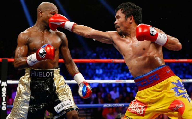 Manny Pacquiao buscará revancha ante Floyd Mayweather