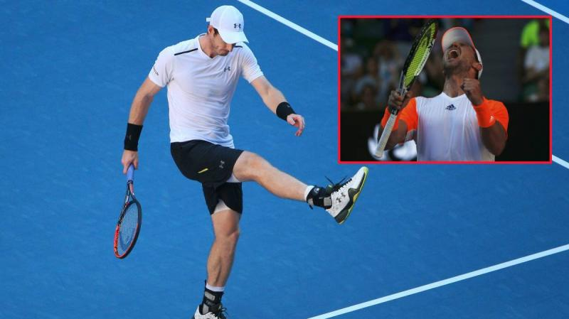 Andy Murray, eliminado del Open Australia