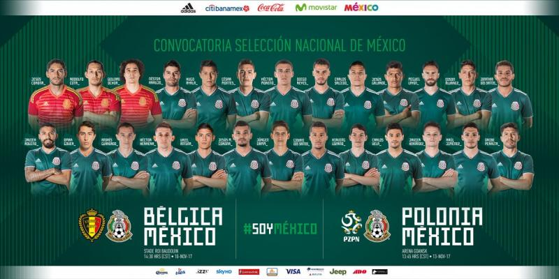 VIDEO: Alineación de México vs Bélgica