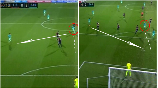 VIDEO: Espectacular pared entre Messi y Suárez sentencia al Eibar