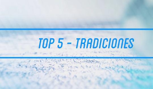 VIDEO: TOP 5 - Mayores tradiciones del fútbol