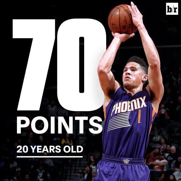 VIDEO. Devin Booker hace historia en la NBA
