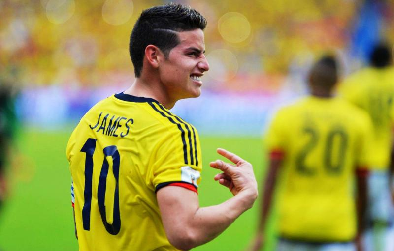 VIDEO: James rescató a Colombia con un gol de último minuto