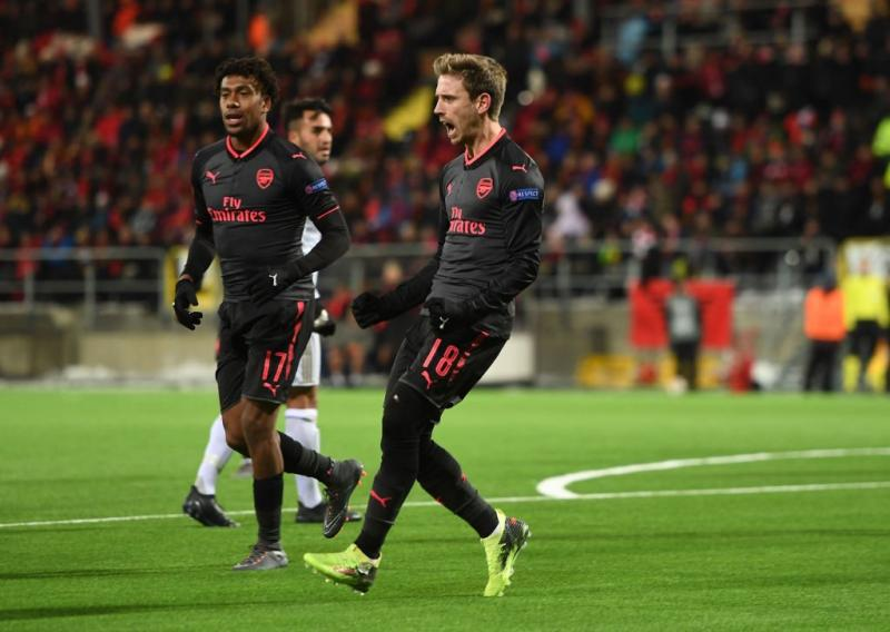 VIDEO: Arsenal golea al Östersunds y sentencia la eliminatoria