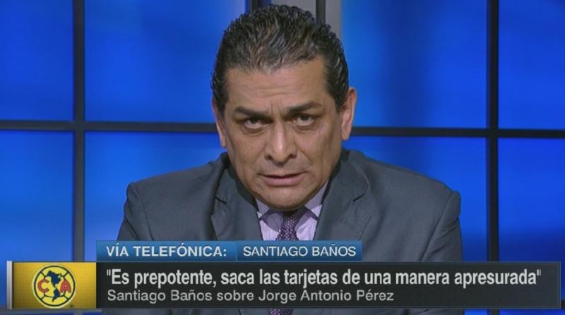 VIDEO: Revive la tremenda pelea entre Santiago Baños y analista de ESPN